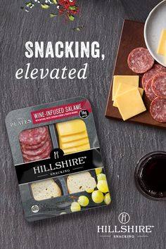 Step up your snack time with Hillshire Snacking Small Plates. Discover a new way to snack with our Wine Infused Salame, With Natural White Cheddar Cheese and Toasted Rounds. Because you don't need to know how to spell hors d'oeuvres to have a gourmet snac Healthy Fats, Healthy Snacks, Healthy Eating, Keto Meal Plan, Diet Meal Plans, Nutritional Value Of Food, Diet Recipes, Healthy Recipes, Frugal Recipes