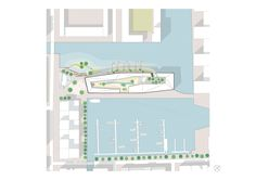 Image 12 of 16 from gallery of Orange Architects Wins Competition to Build Mixed-Use Development on Amsterdam Harbor. Win Competitions, Mixed Use Development, Mall Design, Amsterdam City, Site Plans, Facade, Architecture Design, The Neighbourhood, Floor Plans