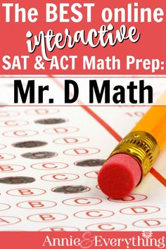 SAT Math Practice -- this is the BEST way to get it! And ACT, too! Build confidence in your teen so they can get the score they deserve. Check it out! Fun Math Games, Math Activities, Act Study, Real Life Math, Act Prep, Homeschool High School, Homeschool Blogs, Math Practices, Math For Kids