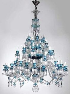Magnificent antique french baccarat crystal chandelier circa 1850 chandelier baccarat bambous tor 46 lights albert spears 75 inch aloadofball Choice Image