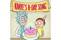 Kim Kardashian Enlists 'Rick and Morty' to Wish Kanye West a Happy Birthday