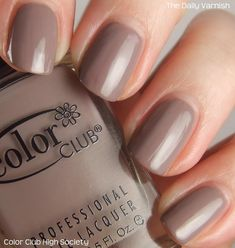 Color Club High Society (+ the most awesome accidental caviar manicure ever!)