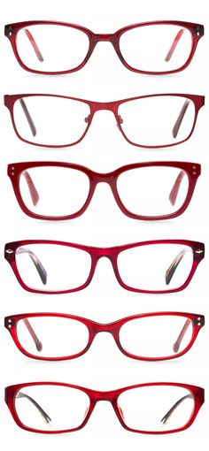 6 Sassy Red Frames to Showcase your Fiery Personality | felix + iris | #glasses