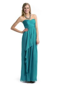 Seaglass Ruched Gown