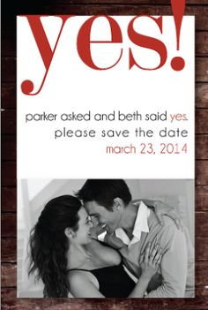 PRINT AT HOME: Bridal Save the Date Stationery Invitation by madeforLOVEstudio, $16.00