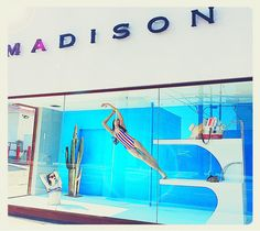 "MADISON, 3rd Street, Los angeles, CA, ""Hello Summer... Don't be afraid to make a splash"", pinned by Ton van der Veer"