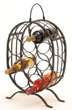 10 Bottle Tabletop Wine Rack