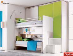 All In One Tutto Uno Due Letti Armadio E Se Volete Anche Saver Bedroomkids Furniturebedroom