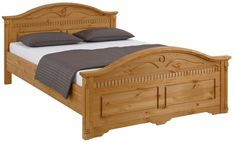 Wooden Sofa Designs, Wood Bed Design, Bedroom Bed Design, Front Door Design Wood, Bedroom Sets, Tv Unit Furniture Design, Bedroom Furniture, Double Bed Designs, Simple Bed