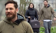 PICTURE EXCLUSIVE: Tom Hardy spotted enjoying daddy duties