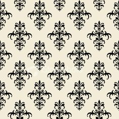 rhythm through repitition... this wallpaper design gives the wall a rhythym of repitition because the little design becomes a diamond shape and the space between each shape is the same which makes it visually pleasing and rhythmic