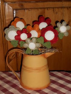 Happiness in a watering can by ToBeThankful on Etsy