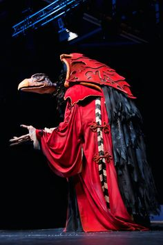 Dark Crystal, Skeksis cosplay. I want that costume so badly...