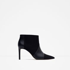 ZARA - NEW IN - ANKLE BOOTS WITH STILETTO HEEL