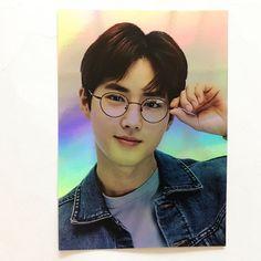 OEIL x SM Artist Collaboration Line EXO Suho Hologram Photocard ( No envelope )
