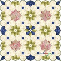 Inklingo Colonial Garden Quilt