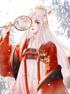Manga Girl, Chica Anime Manga, Anime Couples Manga, Anime Art Girl, Fantasy Characters, Female Characters, Anime Characters, Chinese Drawings, Chinese Art