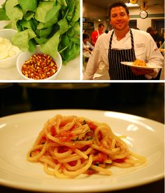 Scot Conant's (of Scarpetta) Spaghetti. The sauce that put him on the map!