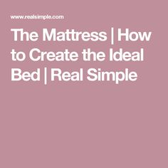 How to Create the Ideal Bed Storage Headboard, Moving Out, Cozy Bed, Real Simple, Good Night Sleep, Home Organization, Mattress, Finding Yourself, Bedrooms