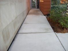 Before and After Pressure Washing Job pictures by the AFS Team, UF Research Building. #PressureWashing #AmericanFacilityServices