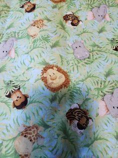 Sheep printed Fabric Fabric made in Korea By Half Yard