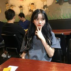 New post on pinkhaneul Picture Poses, Photo Poses, Cute Asian Girls, Cute Girls, Ulzzang Korean Girl, Bad Girl Aesthetic, Uzzlang Girl, Cute Couples Goals, Asia Girl