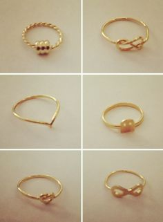 Birdy Stack Rings-Gold | Native LA $10.00