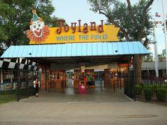 Joyland Amusement Park in Lubbock  Located in Mackenzie Park!