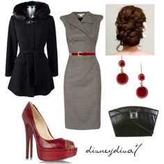 """Touch of Red"" by disneydiva7 on Polyvore"
