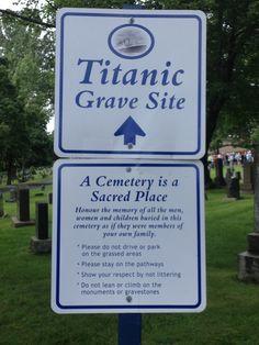 Titanic Grave Site - Halifax, Nova Scotia