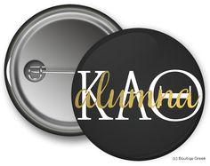KAO Alumna Button