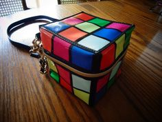 NWT Betsey Johnson Rubik's Cube Cross Body Womens Purse #BetsyJohnson #Crossbody