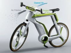Blue Channel 24 Purify The Air As You Ride, With This Photosynthesis Bike