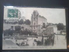 POITIERS ECOLE DE GARCONS ET CHEMIN DE NOTRE DAME DES DUNES ANNEE 1912 Poitiers, Dame, Painting, Painting Art, Paintings, Painted Canvas, Drawings