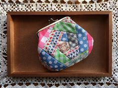 chick chick sewing: More Patchwork *Gamaguchi* Wallets and Giveaway Winner…