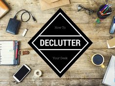 Does it look like a small explosion occurred in the middle of your desk? Well we've come up with 10 ways to declutter your desk and reorganize your life!
