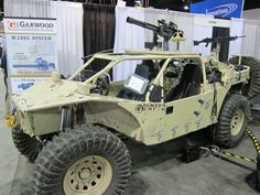 BC Customs (BCC) Search and Rescue Tactical Vehicle-5 (SRTV-5) Baja Racing-Type All-Terrain Combat Vehicle Armed/Weaponized with 7.62mm NATO Garwood Industries (GI) M134G Minigun/Gatling Gun: SXOR Mobility Vehicles Go Tactical for Military Special Operations Forces (SOF) Missions