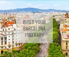 Set your dates, pace and interests, and our Barcelona Travel Guide recommend an itinerary of top attractions organized to reduce traveling around plus a map to help direct you.