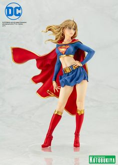 Kotobukiya Supergirl Returns Bishoujo Statue www.FanboyCollectibles.com  https://www.facebook.com/fanboy.collectibles/  https://twitter.com/FanboyCollect  https://www.instagram.com/fanboycollectibles/  https://www.pinterest.com/fanboycollect  https://fanboycollectibles.tumblr.com