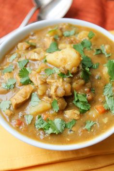 Curried Lentil & Potato Stew - Vegan & Gluten Free