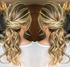 VEM VER >>> 71+ Ideias de Penteado Meio Preso / Semi Preso #Penteado #Semipreso #SemiSolto #MeioPreso Long Bob Hairstyles, Party Hairstyles, Braided Hairstyles, Wedding Hairstyles, Hair Places, How To Make Hair, About Hair, Hair Dos, Gorgeous Hair