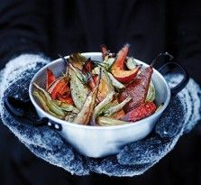 Seasonal? Check. Vegetarian? Check. Utterly delicious? Check. What are you waiting for? Fire up your Weber and make these Roasted Winter Vegetables with a Honey and Orange Dressing.