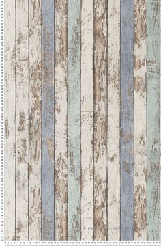 Cabane de pêcheur bleue - Papier peint Dekora Natur d'AS Création