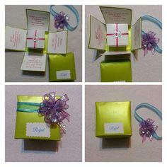 Una linda idea para invitacion a un quinceañero.    Nice pretty idea to birthday invitation.