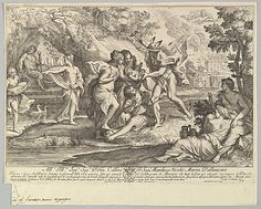 Bacchus as a child given by Mercury to the care of the Nymphs - Andrea Procaccini (Andrea Procaccini) (metmuseum)