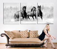 Exciting Learn To Draw Animals Ideas. Exquisite Learn To Draw Animals Ideas. Large Canvas Wall Art, Extra Large Wall Art, Canvas Art Prints, Wall Art Pictures, Print Pictures, Horse Canvas Painting, Animal Drawings, Drawing Animals, Horse Print