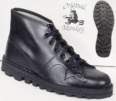 i had the knock-off version of these monkey boots in brown and they were always on my feet
