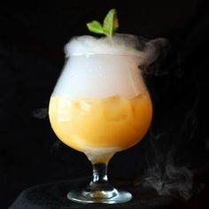 The Fogcutter at Porco Lounge & Tiki Room, Cleveland: Tiki drinks have made a comeback at many places, from Mai Tais to Zombies. But Porco's serves a unique tiki drink you won't find at most places: the high-powered Fogcutter, which comes with light rum, gin, brandy, orange juice, lemon juice, orgeat syrup and sherry. 2527 West 25th St. Cleveland