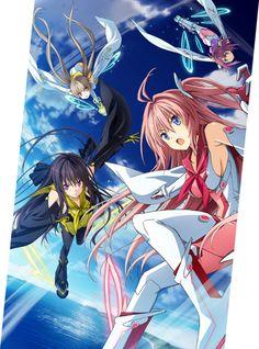 Ao no Kanata no Four Rhythm - Sprite/fairys and Gonzo anime production
