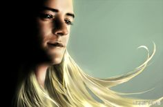 Legolas by 木桃Sonnet Legolas, Thranduil, Gandalf, Hobbit Art, The Hobbit, Misty Eyes, Fili And Kili, Thorin Oakenshield, Dragon Slayer